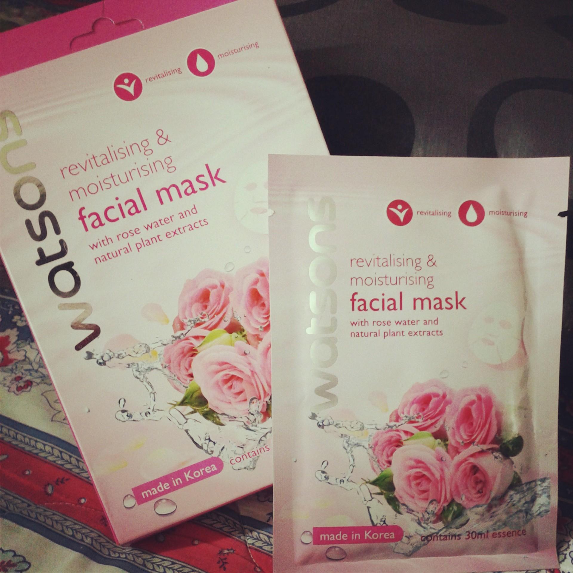 Pemakaian mask muka berkesan