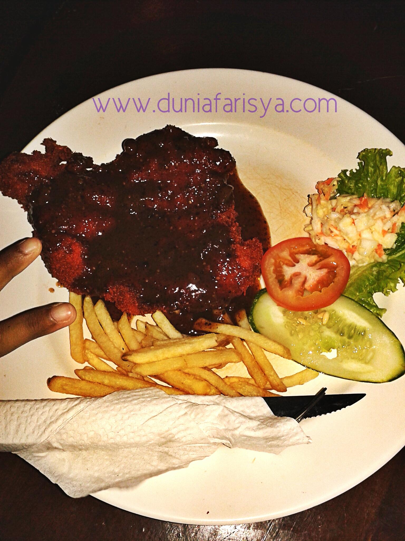 Chicken Chop Sedap di Kuala Terengganu